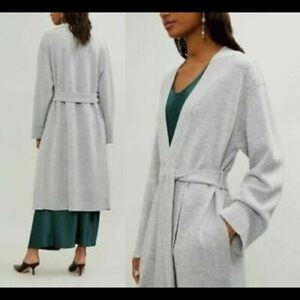 NWT Theory wool cashmere long cardigan size S